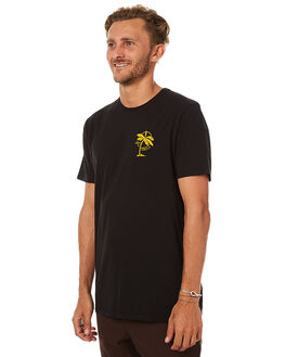 BLACK MENS CLOTHING SWELL TEES - S5173014BLACK
