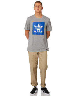 COLLEGIATE ROYAL MENS CLOTHING ADIDAS TEES - DH3864CRYL