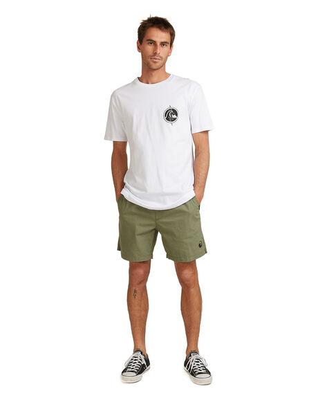 WHITE MENS CLOTHING QUIKSILVER TEES - EQYZT05833-WBB0