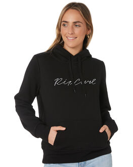 BLACK WOMENS CLOTHING RIP CURL JUMPERS - GFEIQ10090