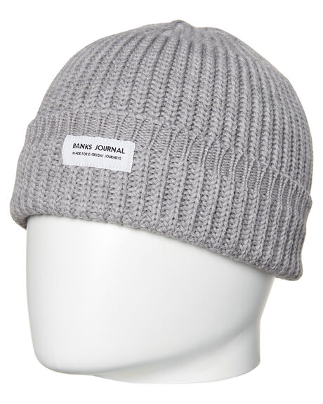 HEATHER GREY MENS ACCESSORIES BANKS HEADWEAR - BE0021HGR