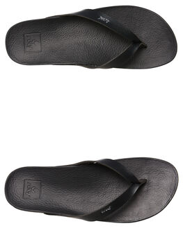 BLACK MENS FOOTWEAR REEF THONGS - A3FDSBLA