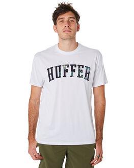 WHITE MENS CLOTHING HUFFER TEES - MTE93S4009WHT