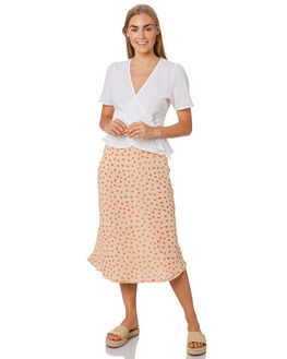 PRINT WOMENS CLOTHING LULU AND ROSE SKIRTS - LU23831PRNT
