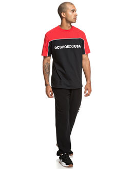 BLACK MENS CLOTHING DC SHOES PANTS - EDYFB03058-KVJ0