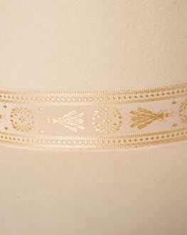 CREAM WOMENS ACCESSORIES LACK OF COLOR HEADWEAR - BEIGDRGNFLY1CRM