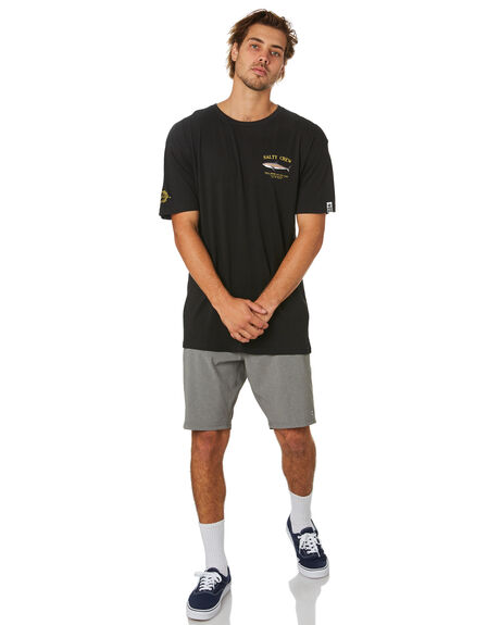 BLACK MENS CLOTHING SALTY CREW TEES - 20035067BLK