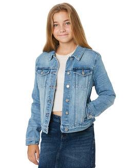 GENUINE BLUE KIDS GIRLS RIDERS BY LEE JUMPERS + JACKETS - R-80105T-KA3