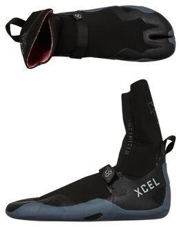 BLACK GREY SURF WETSUITS XCEL ACCESSORIES - AT037017BGR