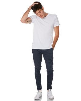 WHITE MENS CLOTHING ACADEMY BRAND TEES - BA333WHT