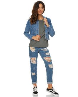 LA BLUES WOMENS CLOTHING A.BRAND JACKETS - 70526LAB