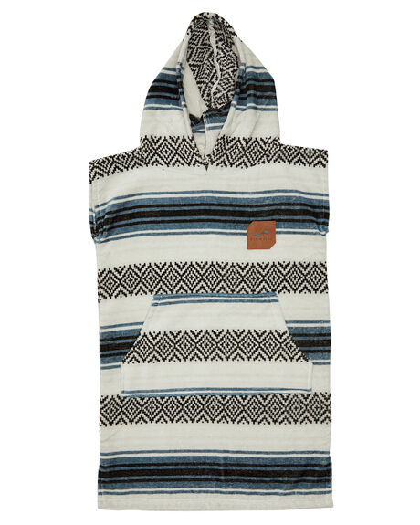 WHITE KIDS BOYS SLOWTIDE TOWELS - ST323WHT