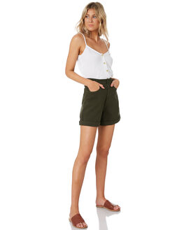 TEAL OUTLET WOMENS THE HIDDEN WAY SHORTS - H8201196TEAL