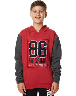 CHILLI CHARCOAL KIDS BOYS MOSSIMO JUMPERS - 3M75GFCHI