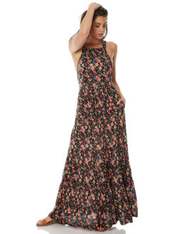 BLACK WOMENS CLOTHING AUGUSTE DRESSES - AMG2-17630BLK