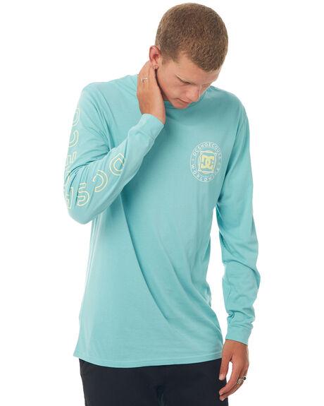 MARINE BLUE MENS CLOTHING DC SHOES TEES - UDYZT03467BHA0