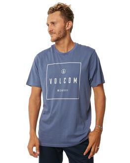 DEEP BLUE MENS CLOTHING VOLCOM TEES - A5011871DPB