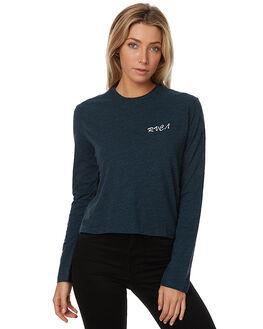 OCEAN MARLE WOMENS CLOTHING RVCA TEES - R273098O59