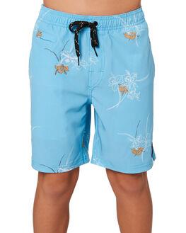 MAUI BLUE KIDS BOYS RUSTY BOARDSHORTS - BSB0355MBU