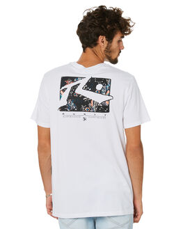WHITE MENS CLOTHING RUSTY TEES - TTM2312WHT