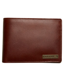 DARK COFFEE MENS ACCESSORIES RUSTY WALLETS - WAM0521DCF