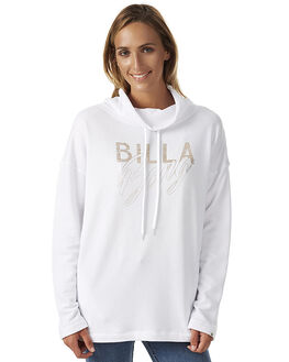 WHITE WOMENS CLOTHING BILLABONG JUMPERS - 6576665WHT