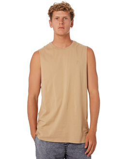 PIGMENT TAN MENS CLOTHING SWELL SINGLETS - S5201271PGTAN