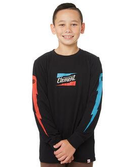 FLINT BLACK KIDS BOYS ELEMENT TOPS - 384051FBLK
