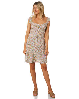 WHITE WOMENS CLOTHING ROLLAS DRESSES - 13462-001