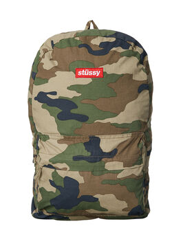 CAMO MENS ACCESSORIES STUSSY BAGS - ST773027CAMO
