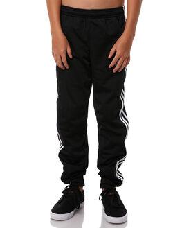 BLACK KIDS BOYS ADIDAS ORIGINALS PANTS - CF8558BLK