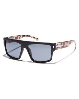 MATTE BLACK TORT MENS ACCESSORIES CARVE SUNGLASSES - 2261MTBTR