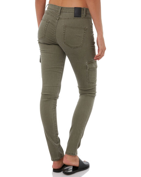 RIFLE GREEN WOMENS CLOTHING RUSTY PANTS - PAL0911RFG