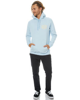 AQUAMARINE MENS CLOTHING DEUS EX MACHINA JUMPERS - DMF78430AAMRN