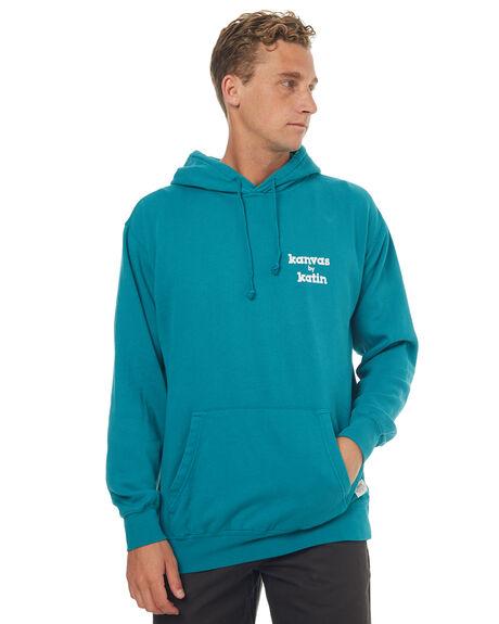 TEAL MENS CLOTHING KATIN JUMPERS - FLSSKOOH17TEA