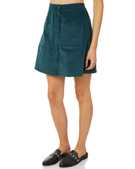 TEAL WOMENS CLOTHING RUE STIIC SKIRTS - SW18-11-1TLTEAL