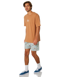 ALMOND MENS CLOTHING RHYTHM TEES - JAN19M-PT06-ALM