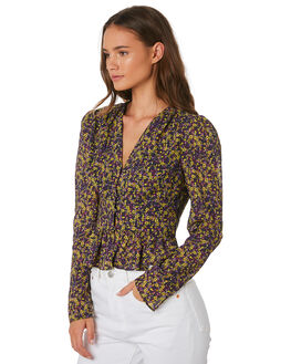 VIOLET CRUMBLE WOMENS CLOTHING THE EAST ORDER FASHION TOPS - EO190634TVIOC