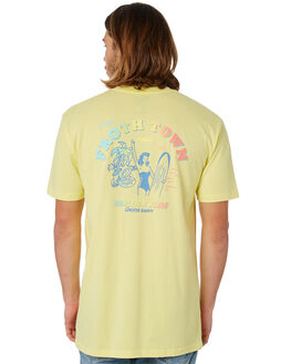 LEMON MENS CLOTHING THE LOBSTER SHANTY TEES - LBSFROTHLEMON