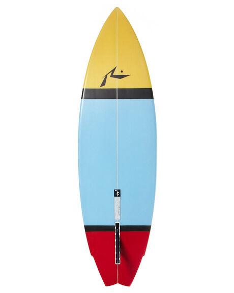 WHITE BOARDSPORTS SURF RUSTY FUNBOARD - RUBALISINGLE