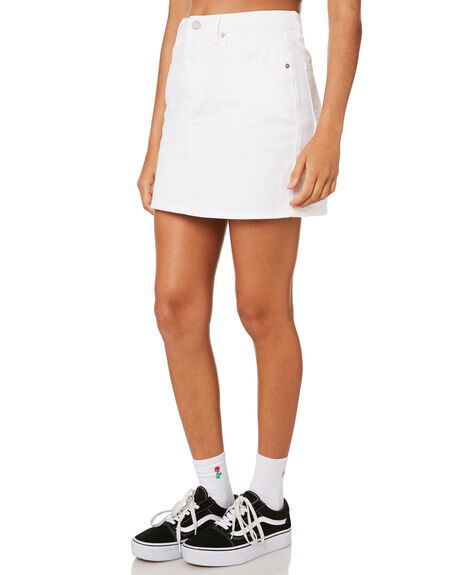 WHITE OUTLET WOMENS VOLCOM SKIRTS - B1911900WHT