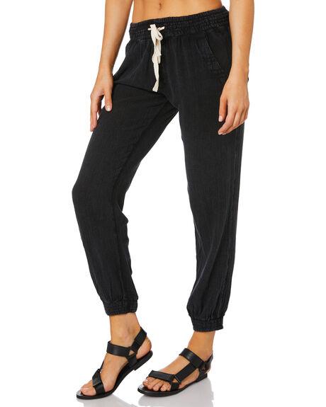 BLACK WOMENS CLOTHING RIP CURL PANTS - GPANE90090