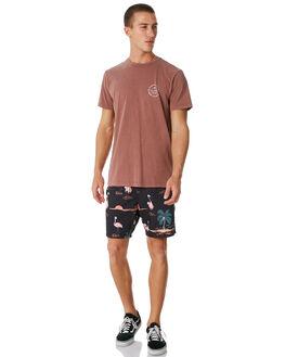 WASHED BRICK MENS CLOTHING BILLABONG TEES - 9581021WBRK