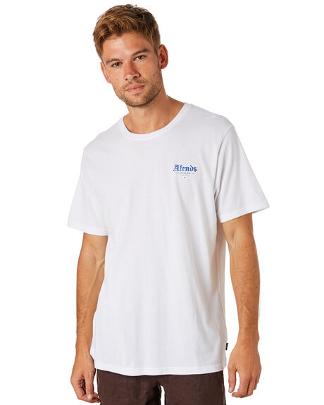 WHITE MENS CLOTHING AFENDS TEES - M184014WHI