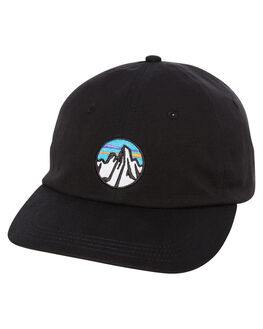 BLACK MENS ACCESSORIES PATAGONIA HEADWEAR - 38255BLK