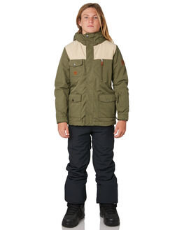 GRAPE LEAF BOARDSPORTS SNOW QUIKSILVER KIDS - EQBTJ03073CRE0