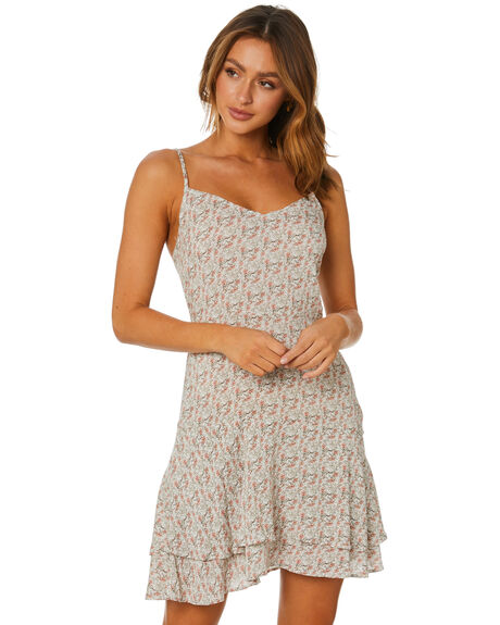 WHITE WOMENS CLOTHING RUSTY DRESSES - DRL1091WHT