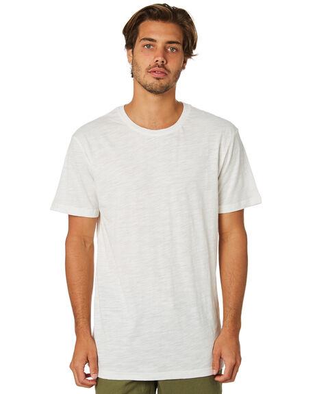 WHITE MENS CLOTHING RHYTHM TEES - JAN19M-CT01-WHT