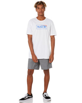 WHITE MENS CLOTHING HURLEY TEES - CJ6870100