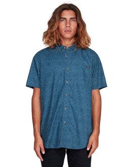 DARK BLUE MENS CLOTHING BILLABONG SHIRTS - BB-9507203-B69
